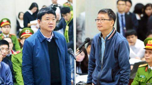 Bị cáo Đinh La Thăng nghẹn ngào trong phần tự bào chữa, Trịnh Xuân Thanh bật khóc tại tòa - Ảnh 1