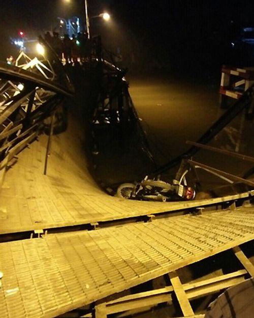 Vụ sập cầu Long Kiển: Tài xế nói không biết đường, cố lái xe quá tải qua cầu - Ảnh 1