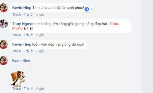 """Lam Trường tự hào """"khoe"""" con trai đã lớn và học giỏi - Ảnh 2"""