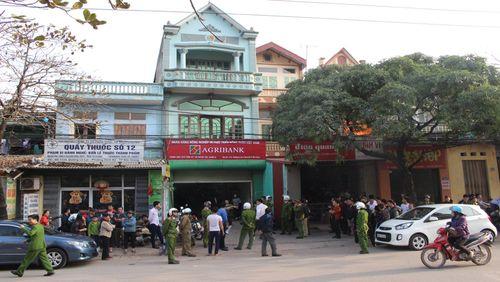 Trích xuất camera, nhận dạng nghi can cướp ngân hàng ở Bắc Giang - Ảnh 1
