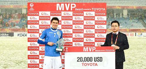 Ghi toàn siêu phẩm, Quang Hải vẫn hụt danh hiệu Cầu thủ xuất sắc nhất VCK U23 Châu Á - Ảnh 2