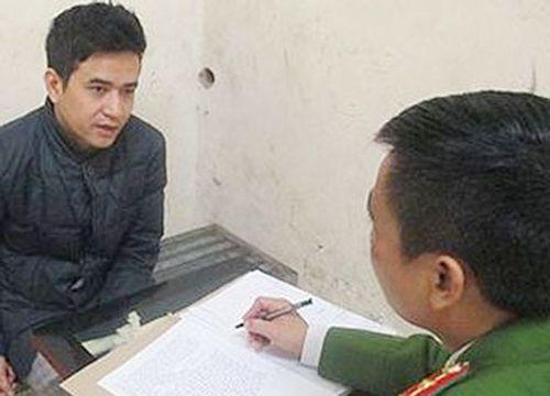 Hà Nội: Tạm giữ thanh niên đi ngược chiều còn tấn công CSGT - Ảnh 1