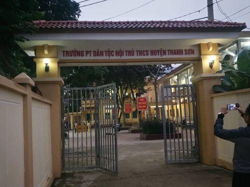 Trường phổ thông dân tộc nội trú THCS huyện Thanh Sơn - Ảnh: Dân trí