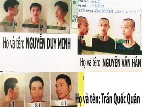 Phạm nhân nguy hiểm trốn khỏi trại tạm giam bị bắt khi đang đón taxi - Ảnh 1