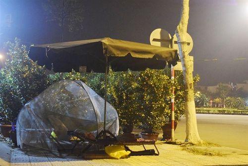 Phóng sự ảnh: Cảnh màn trời chiếu đất trong giá lạnh của người bán hoa tết ở Đà Nẵng - Ảnh 9