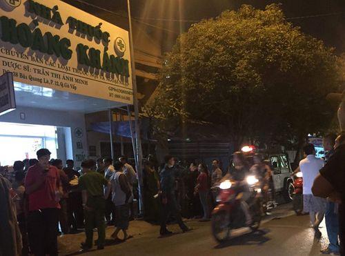 Điều tra vụ cô gái tử vong trong tiệm thuốc tây, nghi bị sát hại - Ảnh 1