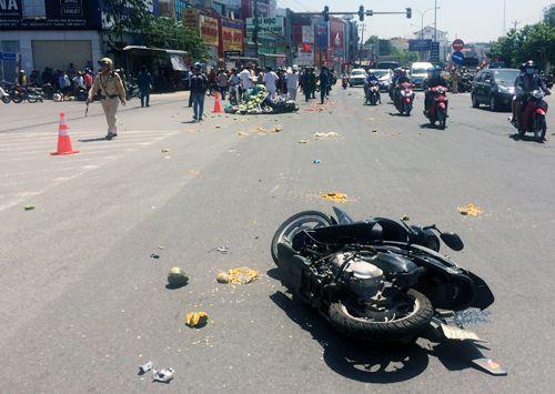 Tài xế ôtô khách gây tai nạn khiến 6 người bị thương khai do xe mất phanh - Ảnh 1