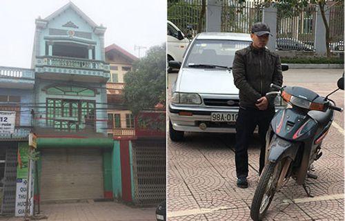 Khởi tố kẻ dùng mìn giả cướp hơn 1 tỷ đồng tại ngân hàng ở Bắc Giang - Ảnh 1