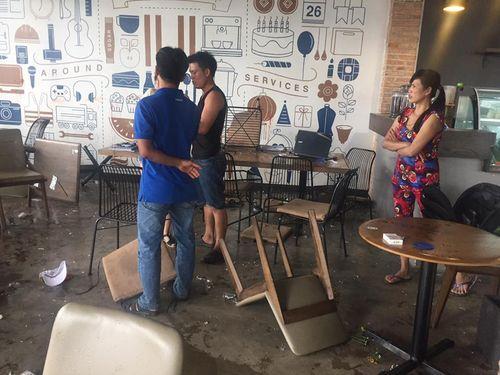 Nguyên nhân vụ 2 nhóm thanh niên hỗn chiến trong quán cà phê - Ảnh 1