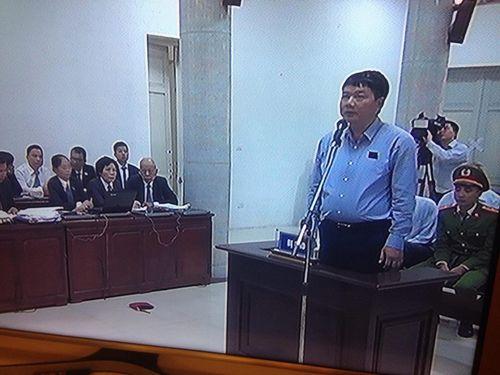 Hình ảnh mới nhất của ông Đinh La Thăng trong lần thứ 2 hầu tòa - Ảnh 5