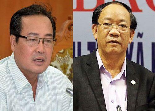 Kỷ luật cảnh cáo Chủ tịch, Phó Chủ tịch Thường trực UBND tỉnh Quảng Nam - Ảnh 1