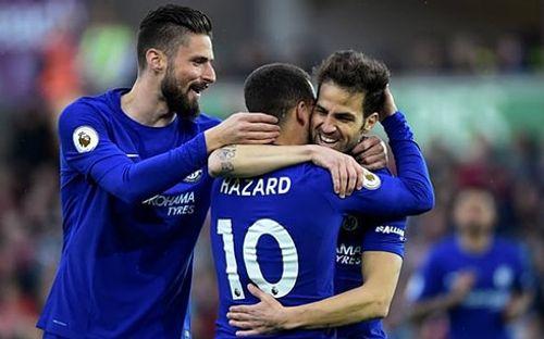 """Fabregas lập """"siêu phẩm"""", Chelsea nuôi hy vọng vào top 4 - Ảnh 1"""