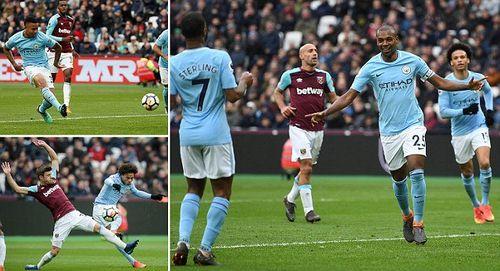 Đè bẹp West Ham, Man City đạt cột mốc 100 bàn thắng tại Premier League - Ảnh 1