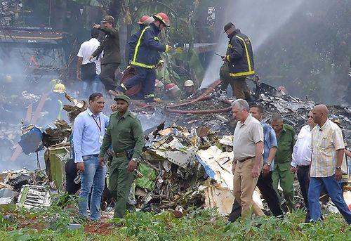 Lãnh đạo Việt Nam gửi điện thăm hỏi về vụ máy bay Cuba gặp nạn - Ảnh 1
