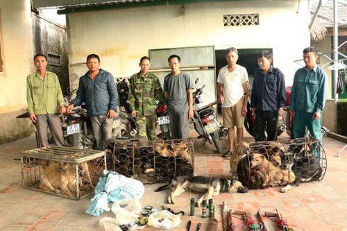 Cảnh sát hình sự chặt đứt đường dây trộm chó chuyên nghiệp, thủ sẵn hung khí để chống trả - Ảnh 1