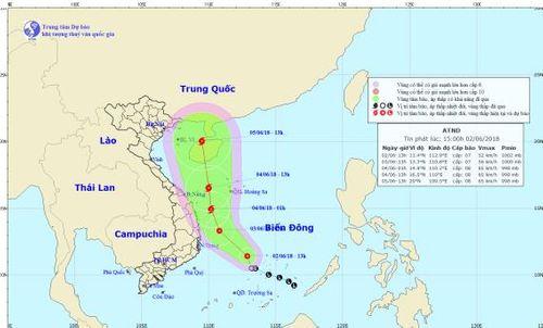 Áp thấp nhiệt đới giật cấp 9 trên Biển Đông, khả năng mạnh thành bão - Ảnh 1