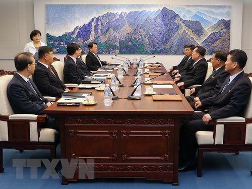 Triều Tiên hối thúc Hàn Quốc thực hiện Tuyên bố Panmunjom - Ảnh 1
