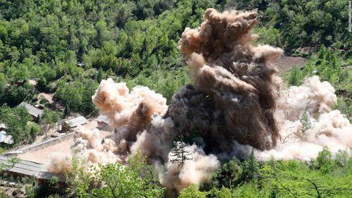 Tổng thống Donald Trump: Triều Tiên đã phá hủy 4 điểm thử hạt nhân - Ảnh 2