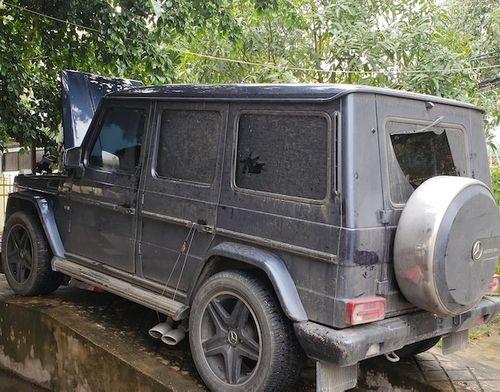 "Chủ xe Mercedes-Benz G55 khai gắn biển số quân đội giả để chạy cho ""oai"" - Ảnh 1"