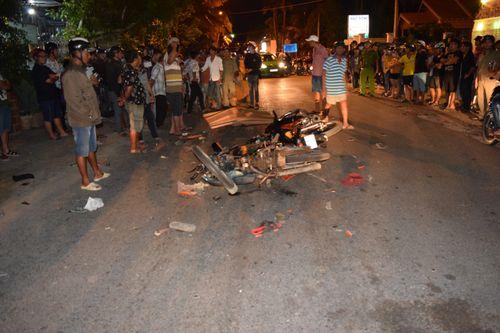 Tin tai nạn giao thông mới nhất ngày 27/9/2018: Bảo vệ chợ ven quốc lộ bị xe khách tông chết - Ảnh 3