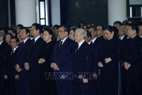 Những hình ảnh đầu tiên tại Lễ Truy điệu Chủ tịch nước Trần Đại Quang - Ảnh 1