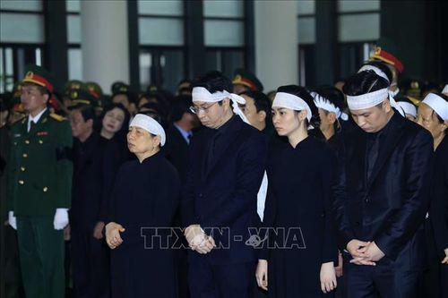 Những hình ảnh đầu tiên tại Lễ Truy điệu Chủ tịch nước Trần Đại Quang - Ảnh 3