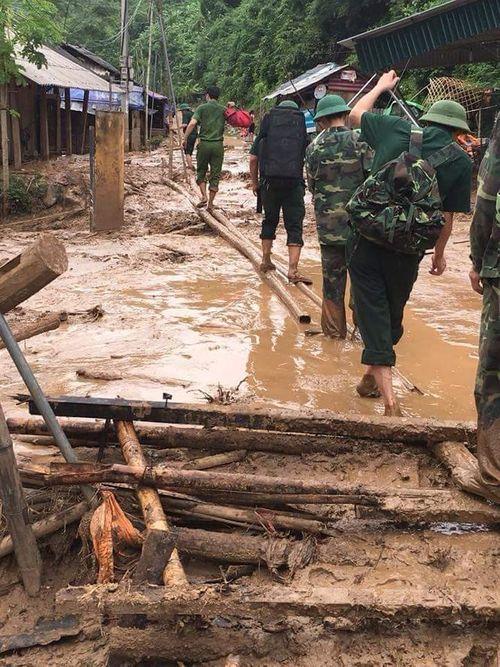 Thanh Hóa: Xót xa cảnh mưa lũ tàn phá tan hoang ở Mường Lát - Ảnh 7