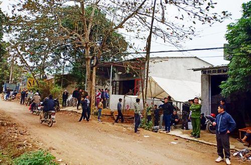 Án mạng thương tâm ở Lào Cai: Bé 4 tuổi bị chém chết khi đang được bố đèo đến trường - Ảnh 1