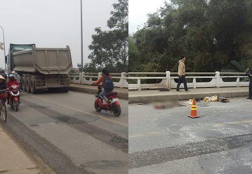 Tin tai nạn giao thông mới nhất ngày 23/1/2019: Xe đầu kéo biển đỏ đâm xe máy trên cầu, 1 người tử vong - Ảnh 1