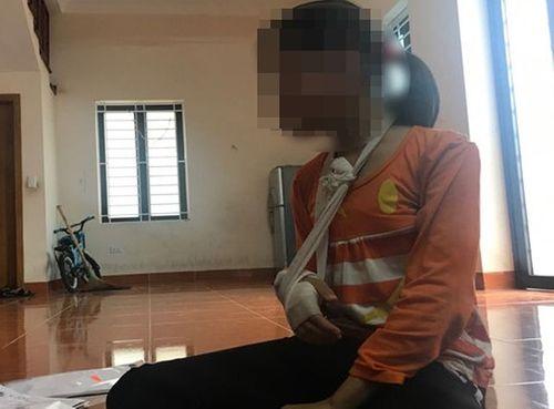 Diễn biến mới vụ bé gái 9 tuổi bị gã bán thịt xâm hại đến rạn xương tay, hãy răng hàm - Ảnh 1