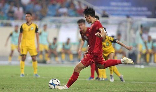 """U23 Việt Nam 6-0 U23 Brunei: """"Cơn mưa"""" bàn thắng trên sân Mỹ Đình - Ảnh 1"""