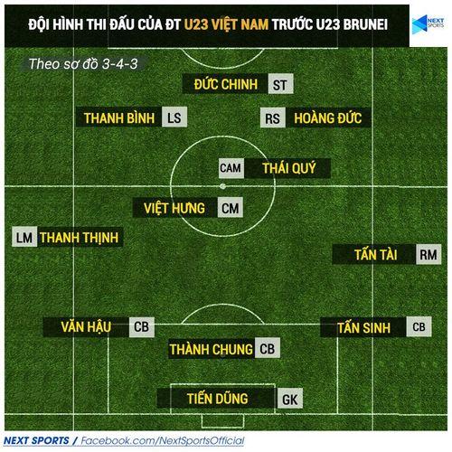 """U23 Việt Nam 6-0 U23 Brunei: """"Cơn mưa"""" bàn thắng trên sân Mỹ Đình - Ảnh 5"""