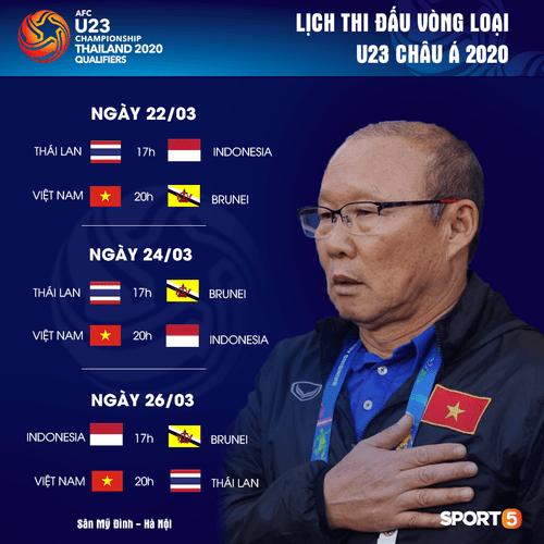 Lịch thi đấu vòng loại U23 châu Á hôm nay 24/3: Việt Nam đấu Indonesia - Ảnh 1