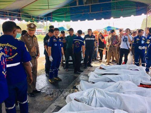 Vụ 5 người Việt tử vong ở Thái Lan: Hỗ trợ gia đình nạn nhân làm thủ tục đưa thi hài về nước sớm nhất - Ảnh 1