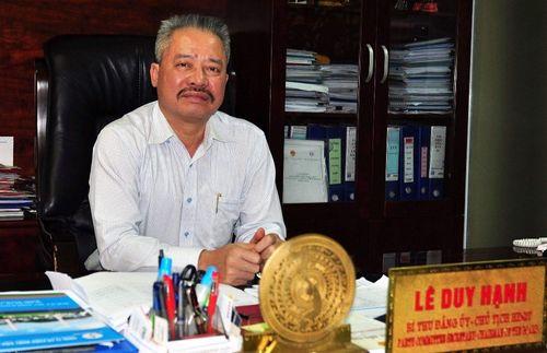 Bắt khẩn cấp Chủ tịch HĐQT công ty CP Nhiệt điện Quảng Ninh - Ảnh 1
