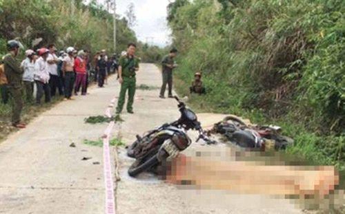 3 xe máy tông nhau ở Gia Lai khiến 2 người chết, 5 người bị thương - Ảnh 1