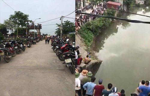 Nam Định: Phát hiện xe máy gần bờ, thợ lặn tìm được thi thể dưới sông - Ảnh 1