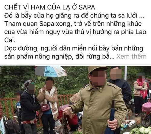 """Vụ khách du lịch bị """"gài bẫy"""" khi mua thịt thú rừng: Chủ tịch huyện Sa Pa nói gì? - Ảnh 1"""