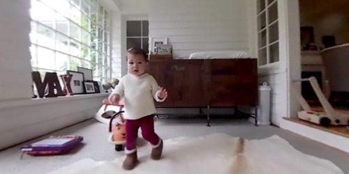 Tỷ phú Mark Zuckerberg khoe bước đi đầu tiên của con gái trên Facebook - Ảnh 2
