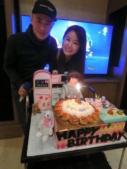 Hoắc Kiến Hoa đón sinh nhật bên Lâm Tâm Như đập tan tin đồn bị ép cưới - Ảnh 1