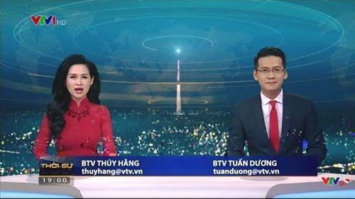 BTV Tuấn Dương tạm dừng dẫn bản tin Thời sự 19h của VTV - Ảnh 1