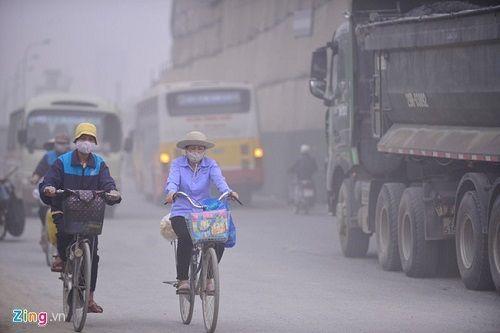 Chỉ số ô nhiễm bụi ở Hà Nội cao gấp 2 lần Sài Gòn - Ảnh 1