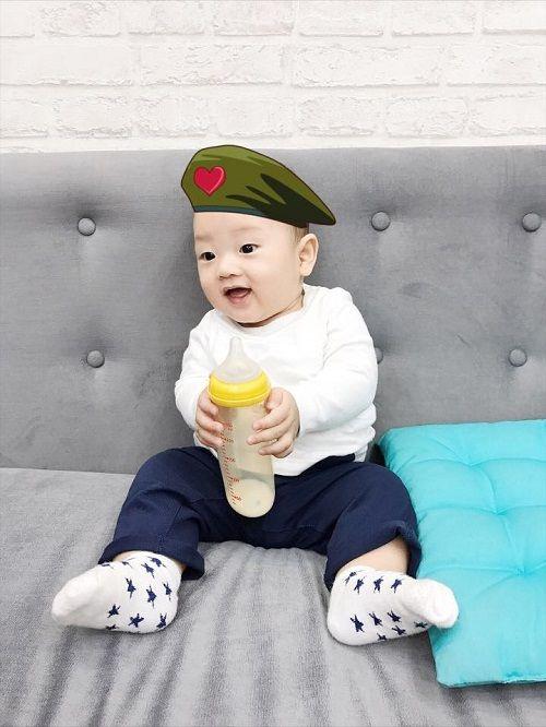 Loạt ảnh mới siêu dễ thương của con trai Mạc Hồng Quân và Ly Kute - Ảnh 6