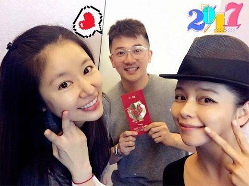 Triệu Vy và Tô Hữu Bằng hội ngộ mừng đầy tháng con gái Lâm Tâm Như - Ảnh 2
