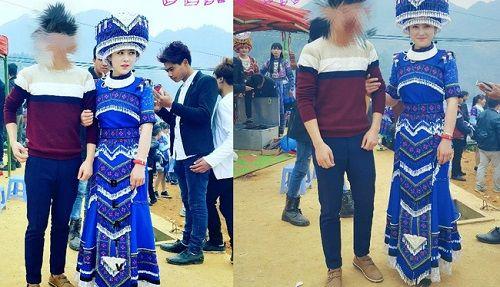 Cô gái H'Mông xinh đẹp trong lễ hội ở Lào Cai gây sốt cộng đồng mạng - Ảnh 1