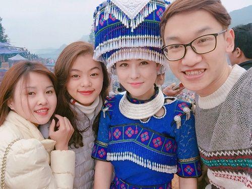 Cô gái H'Mông xinh đẹp trong lễ hội ở Lào Cai gây sốt cộng đồng mạng - Ảnh 4