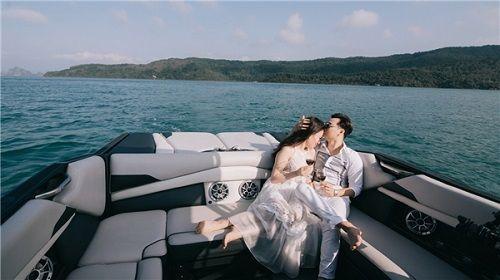 Bộ ảnh cưới lãng mạn MC Thành Trung và bạn gái 9x ở Quảng Ninh - Ảnh 7