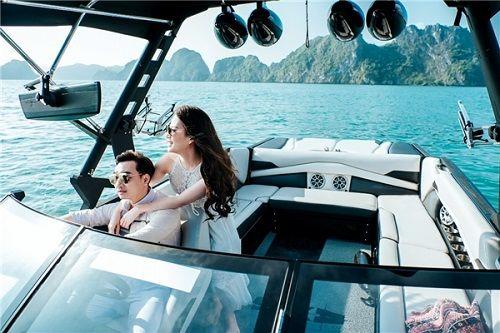 Bộ ảnh cưới lãng mạn MC Thành Trung và bạn gái 9x ở Quảng Ninh - Ảnh 9