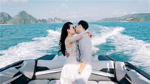 Bộ ảnh cưới lãng mạn MC Thành Trung và bạn gái 9x ở Quảng Ninh - Ảnh 10