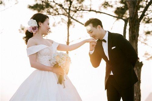 Bộ ảnh cưới lãng mạn MC Thành Trung và bạn gái 9x ở Quảng Ninh - Ảnh 11